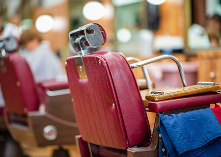 Carousel Barber Shop - Chair