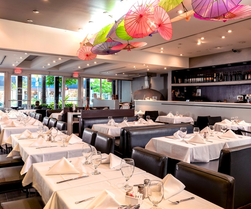 Cine Citta is a stylish, upscale Italian restaurant producing kosher interpretations of classic meals in Surfside