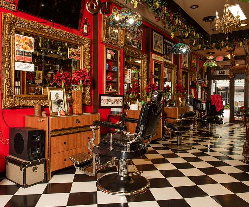 Picture of Razzledazzle barbershop