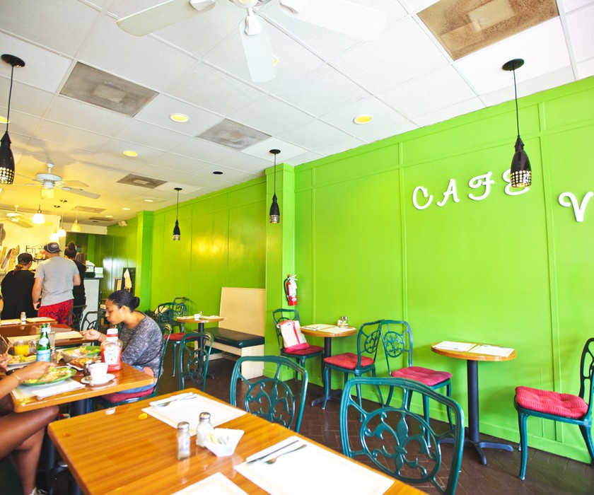 Cafe Vert in Surfside has just what you need when you're looking for a sweet treat