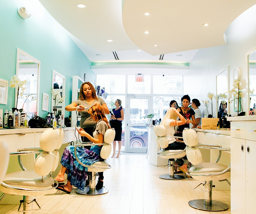 Inside LAHH Salon