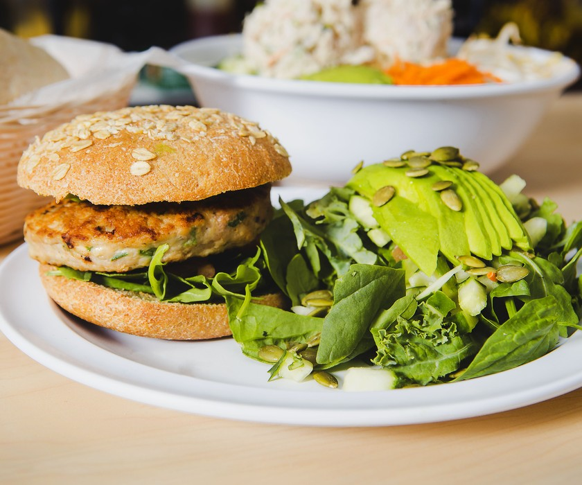 Visit The Carrot at Surfside for tasty healthy meals