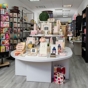 Inside Scarlet Letter shop in Surfside