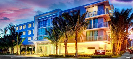 Surfside's Residence Inn offers a uxurious stay