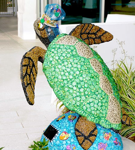 Surfside Sea Turtle Art Castoria