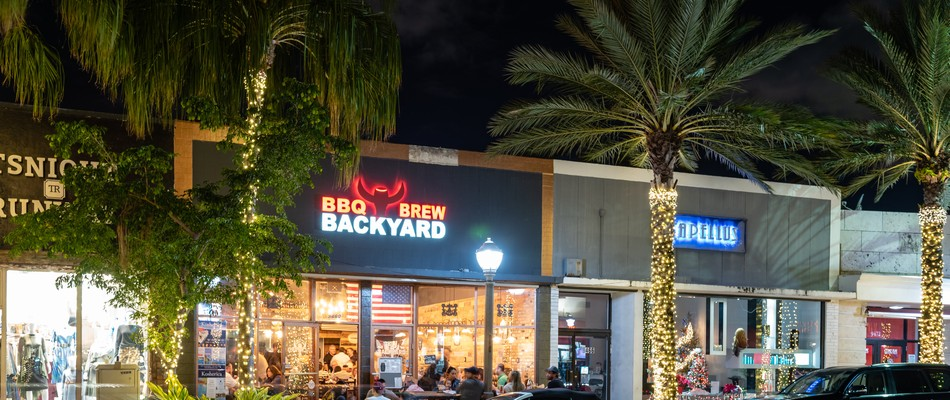 Visit Backyard BBQ and Brew for a delicious treat with friends