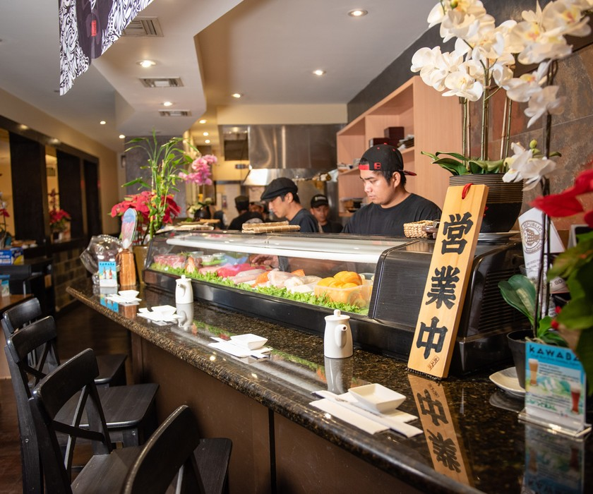 Surfside has a variety of dining options like Sushi Republic