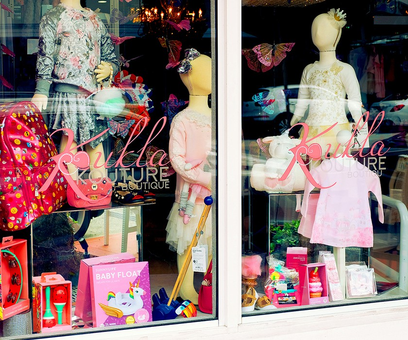 Koukla Kourture window display